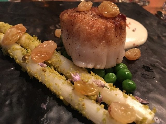 AmericanKitchen beer scallop