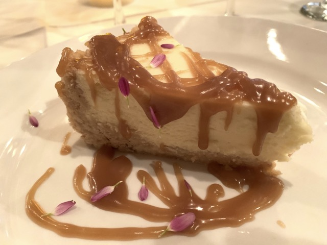 Chefstable cheesecake