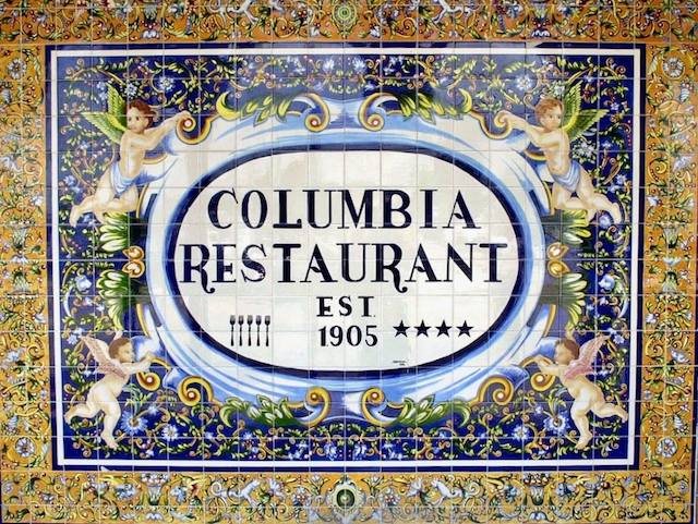 Columbia sign