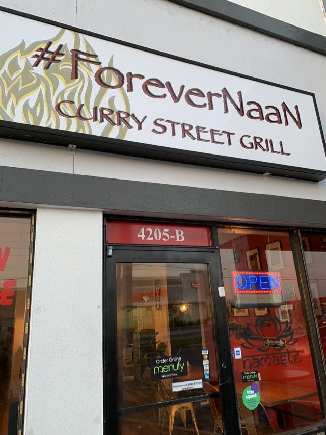 Forever Naan sign
