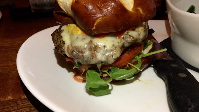 Hangry Bison burger