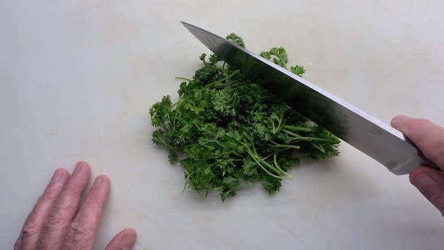 How to Chop Parsley still