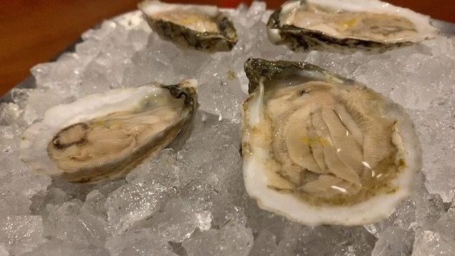 Jaleo oysters