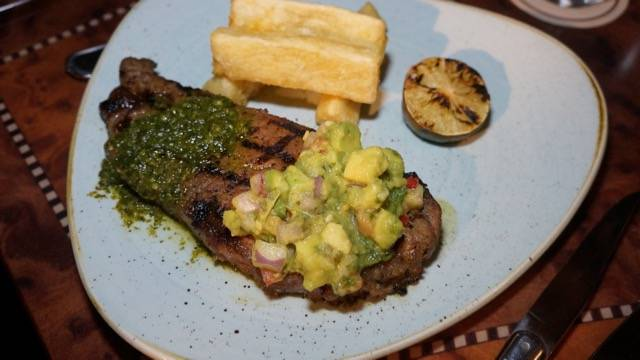 Jungle Skipper steak