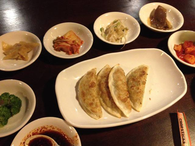Korea House dumplings
