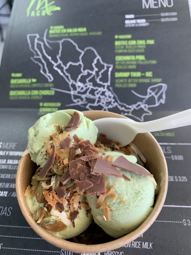 MX Taco ice cream