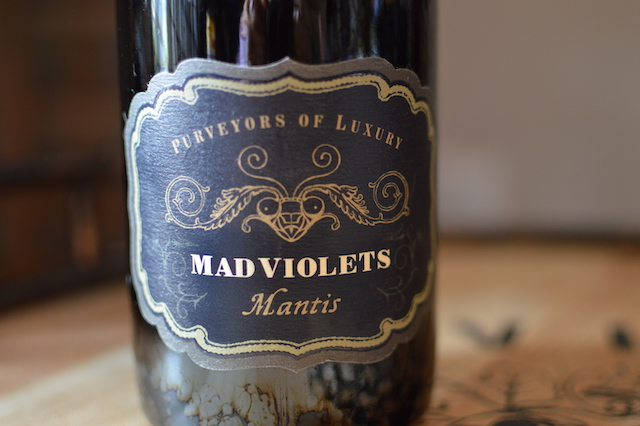 Mad Violets label