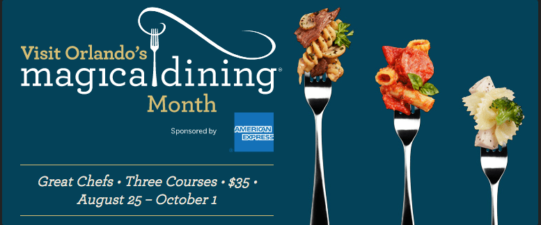 Magical dining month logo