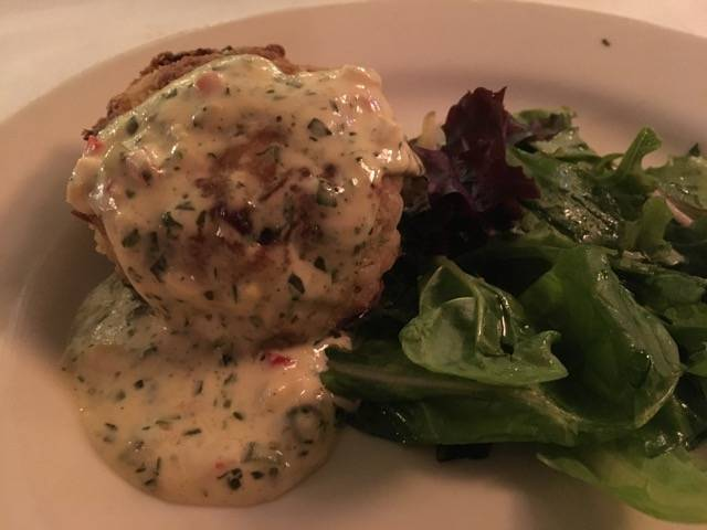 Nola Mr. B crab cake