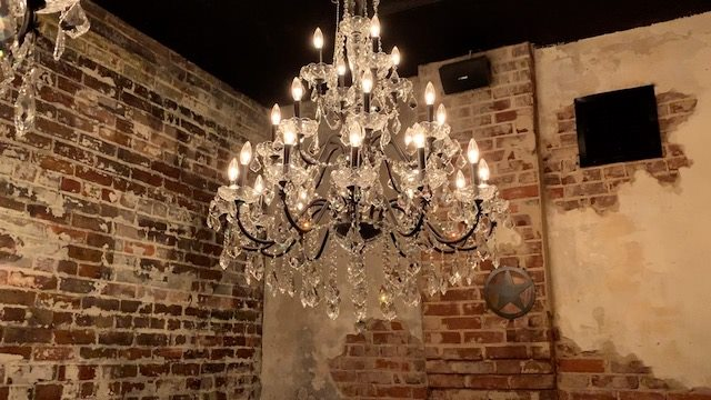 Old Jailhouse chandelier