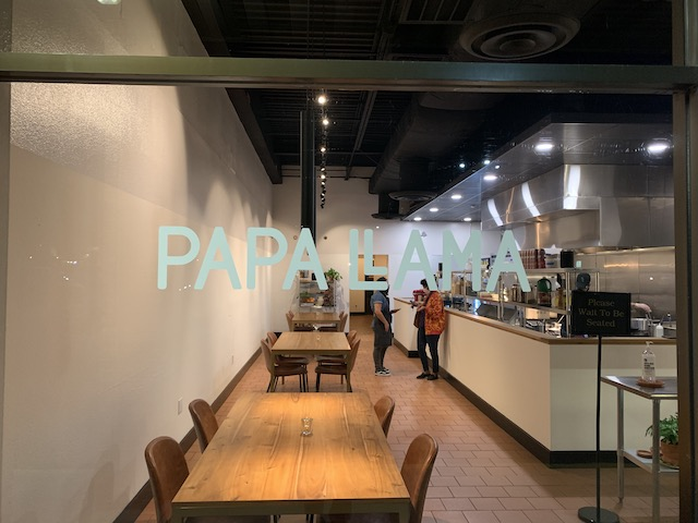 Papallama dining room