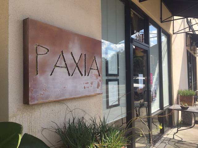 Paxia sign