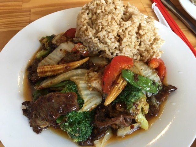Peters Chinese beef