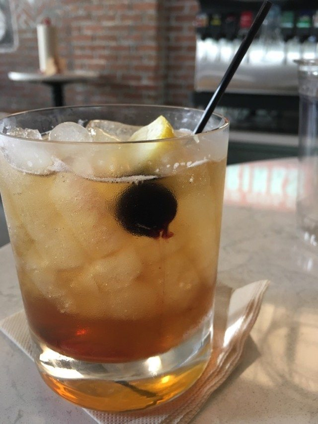 Polite Pig old fashioned