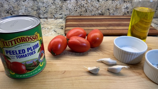 Pomodoro ingredients