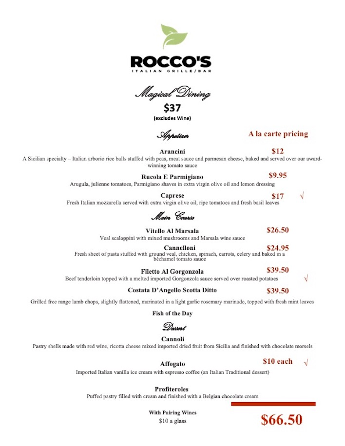 Roccos Italian Grille 2021 Magical Dining Revised copy