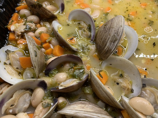 Russells clams