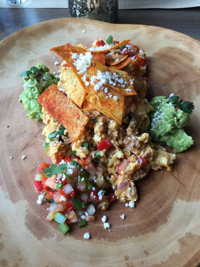 Slate chilaquiles
