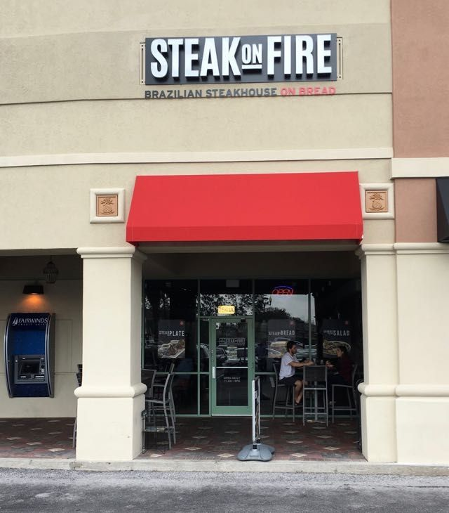 Steakonfire exterior