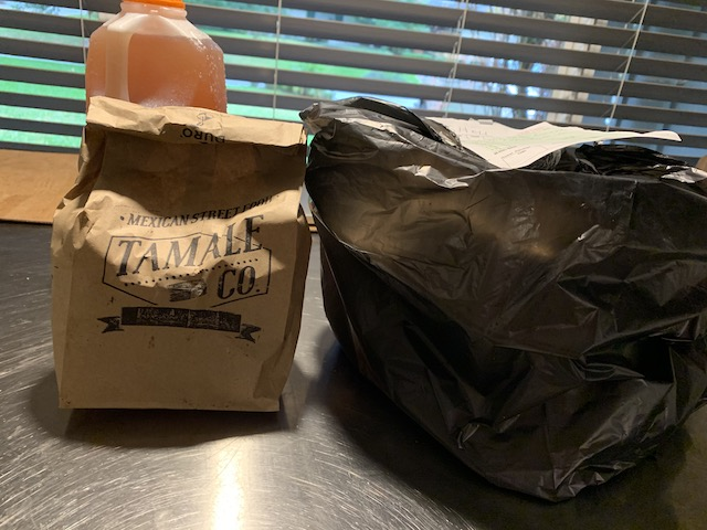 Tamale takeout bags