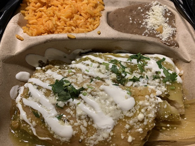 Tamale takeout tamales