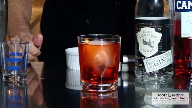 The Perfect Negroni still