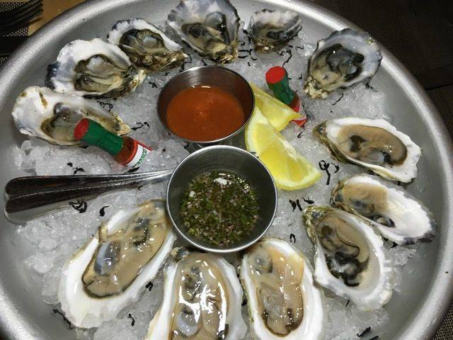 Dovecote oysters