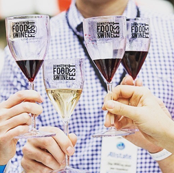 downtown foodwine glasses