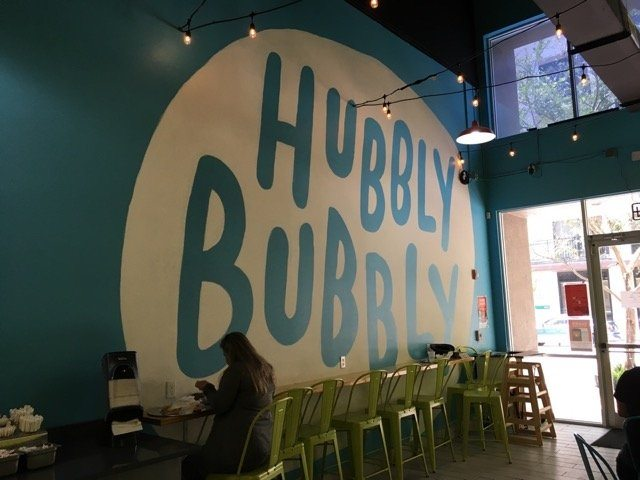 hubblybubbly wall