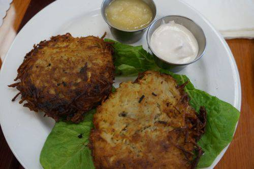 Browns latkes