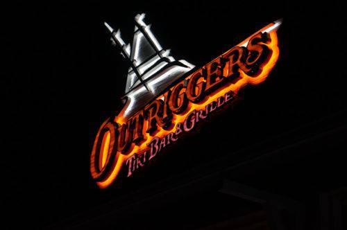 Outriggers sign