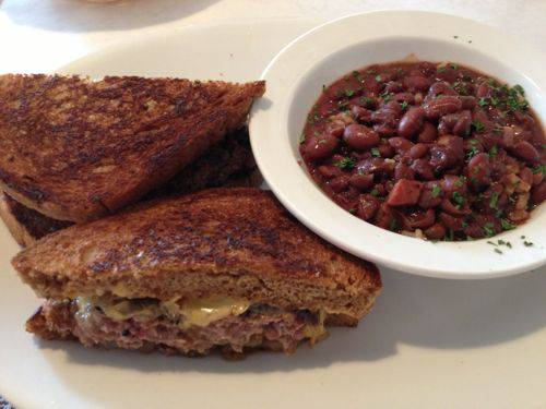 Regional patty melt