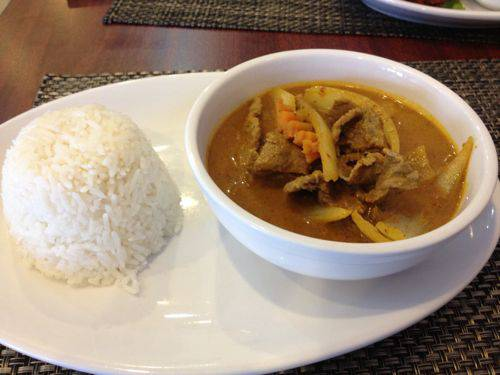 Thaipurple curry
