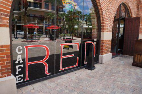 cafered exterior